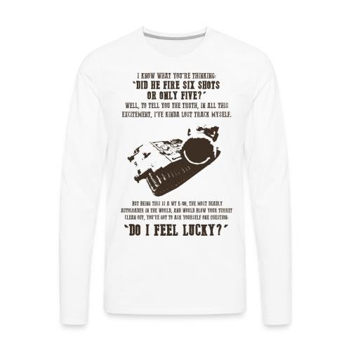 Dirty Waffle (Women) - Men's Premium Long Sleeve T-Shirt