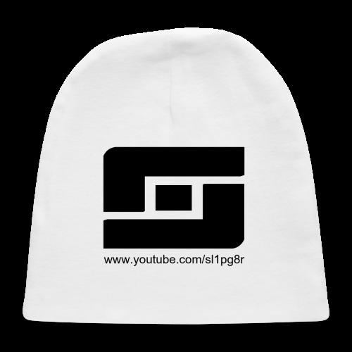 Kid's Sl1pg8r Logo Black T-Shirt - Baby Cap