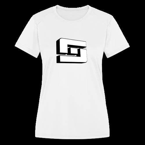 Kid's Sl1pg8r Logo 3D T-Shirt - Women's Moisture Wicking Performance T-Shirt