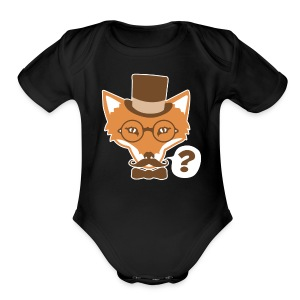 Fox Says What - Short Sleeve Baby Bodysuit