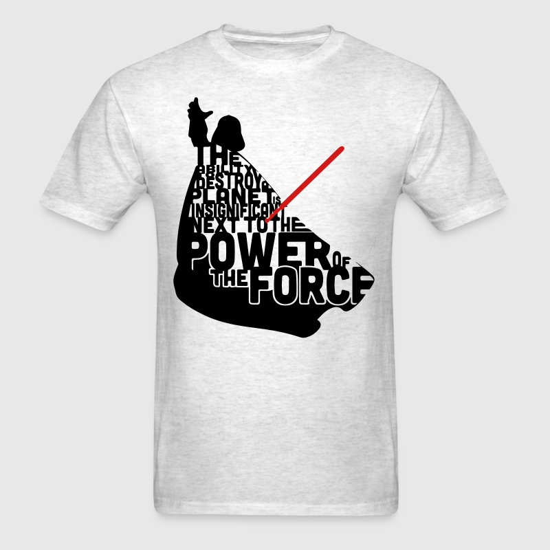 Darth Vader in quotes  T-Shirts - Men's T-Shirt