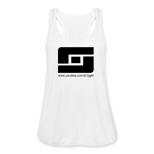 Women's Sl1pg8r Logo Black - Women's Flowy Tank Top by Bella