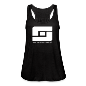 Women's Sl1pg8r Logo White - Women's Flowy Tank Top by Bella