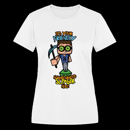 Kids XmCism FNS!  - Women's Moisture Wicking Performance T-Shirt