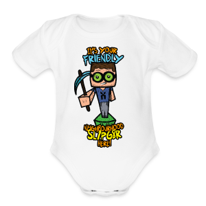 Kids XmCism FNS!  - Short Sleeve Baby Bodysuit