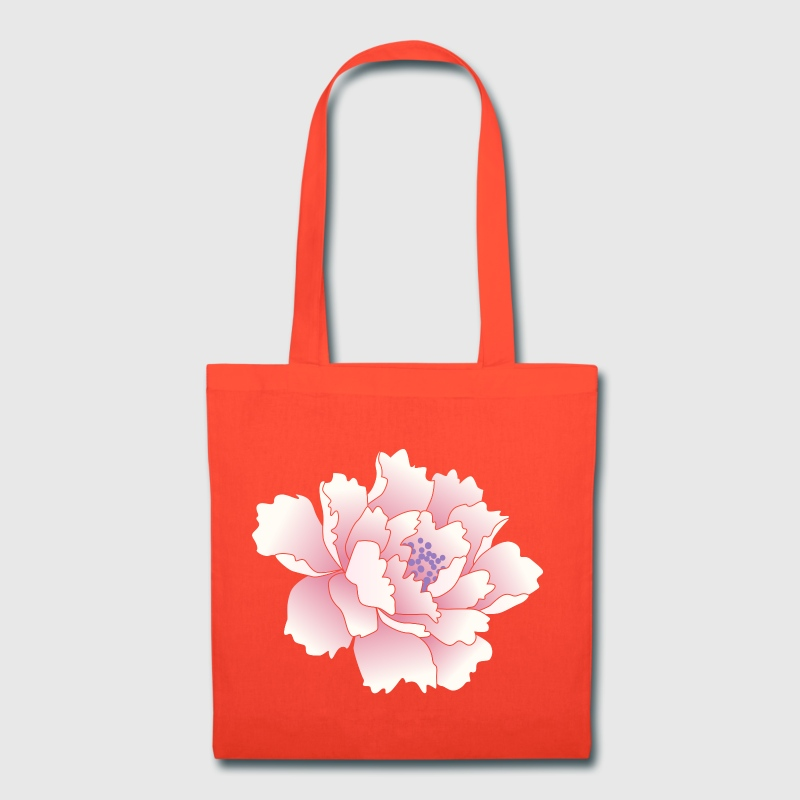 Japanese Peony Flower Bags & backpacks - Tote Bag