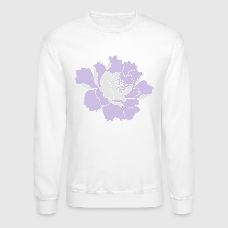 Peony Flower Vector Women's T-Shirts - Crewneck Sweatshirt