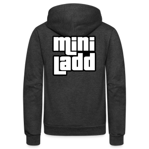 Mini Ladd GTA Logo Womans - Unisex Fleece Zip Hoodie by American Apparel