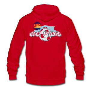 Go Pids - Mens - T-shirt - Unisex Fleece Zip Hoodie by American Apparel