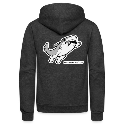 Vonnie Leaping - Unisex Fleece Zip Hoodie