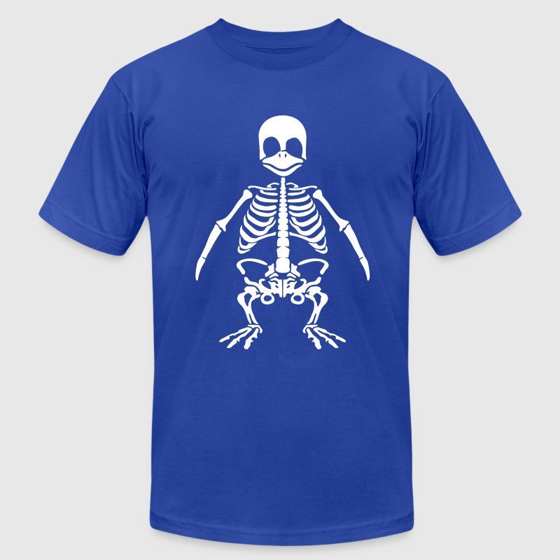 Penguin skeleton T-Shirts - Men's T-Shirt by American Apparel