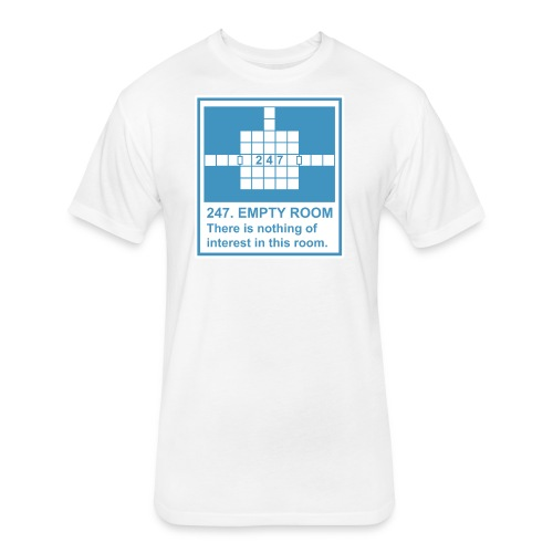 247. EMPTY ROOM - Fitted Cotton/Poly T-Shirt by Next Level