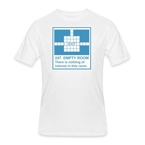 247. EMPTY ROOM - Men's 50/50 T-Shirt