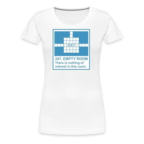247. EMPTY ROOM - Women's Premium T-Shirt