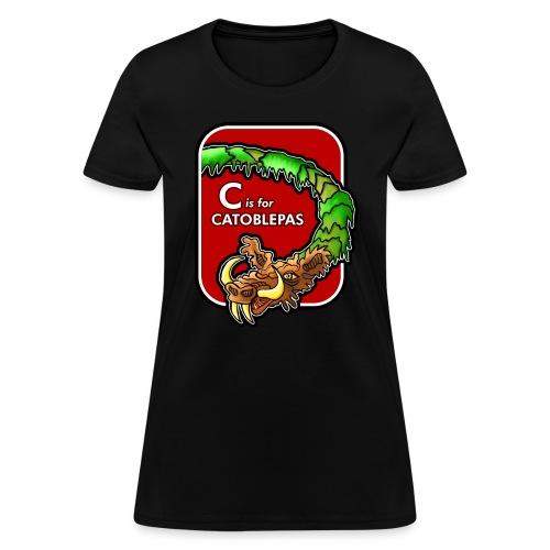 C is for Catoblebas - Women's T-Shirt