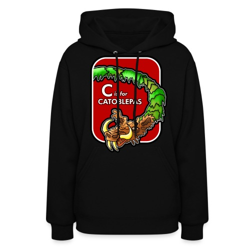 C is for Catoblebas - Women's Hoodie