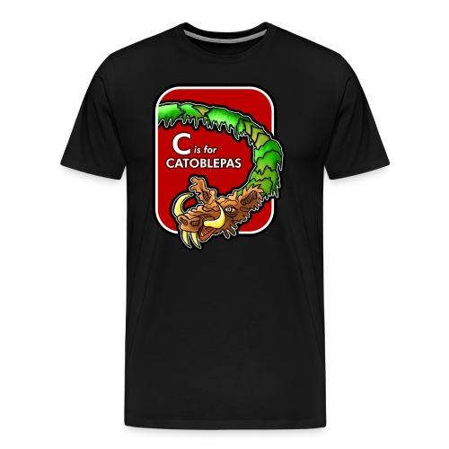 C is for Catoblebas - Men's Premium T-Shirt
