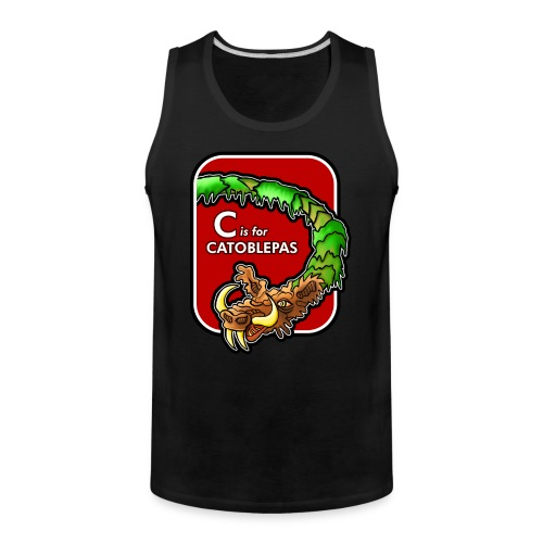 C is for Catoblebas - Men's Premium Tank
