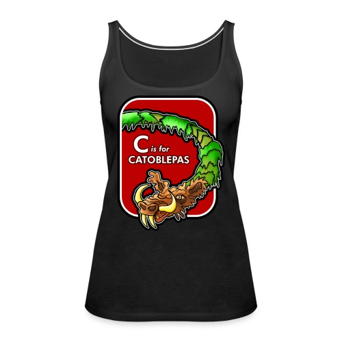 C is for Catoblebas - Women's Premium Tank Top