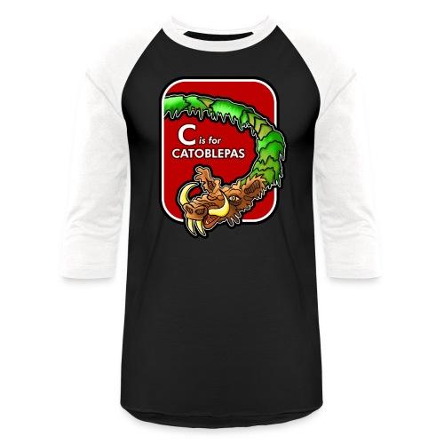 C is for Catoblebas - Baseball T-Shirt