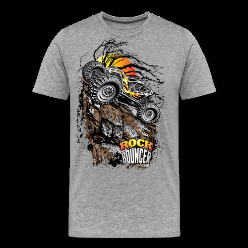 Rock Bouncer Sun Tree - Men's Premium T-Shirt