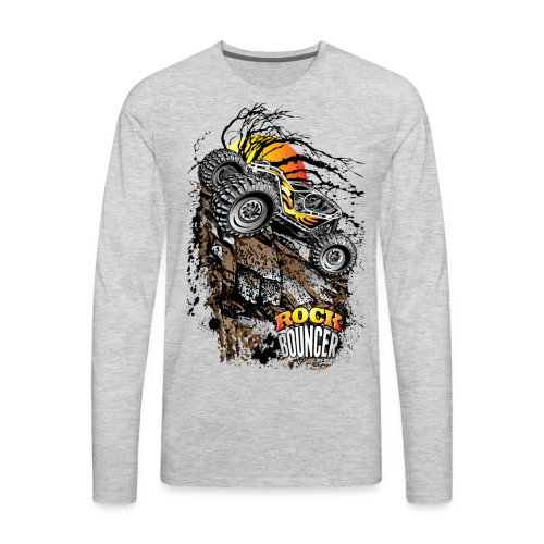 Rock Bouncer Sun Tree - Men's Premium Long Sleeve T-Shirt