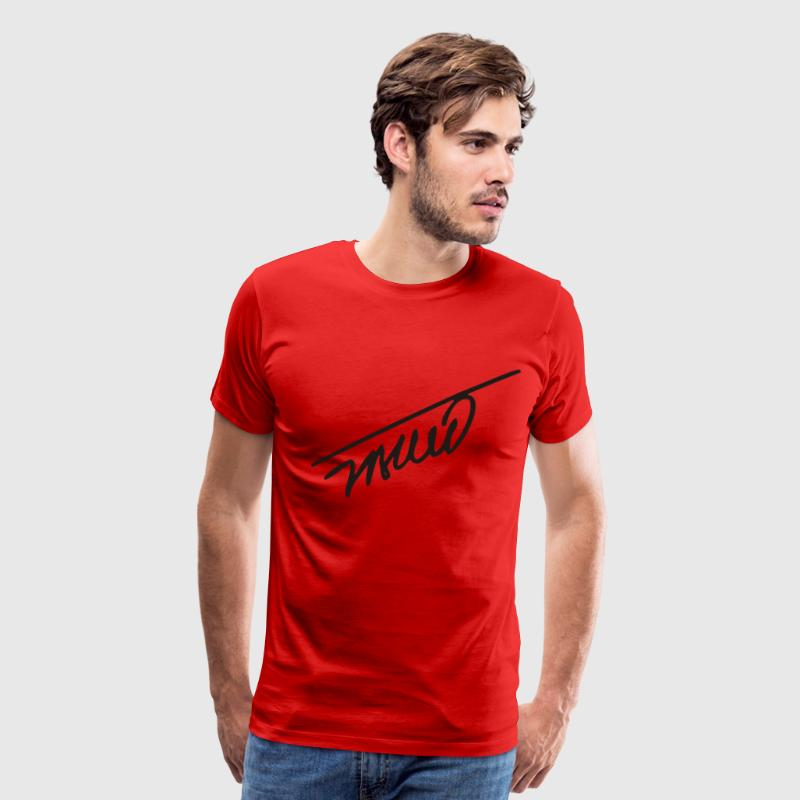 Red tito T-Shirts (Short sleeve) - Men's Premium T-Shirt