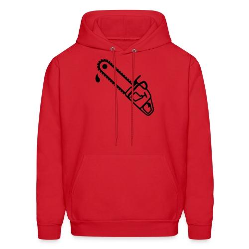 Chainsaw Crimson - Men's Hoodie