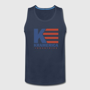 Navy Kramerica Industries Men - Men's Premium Tank