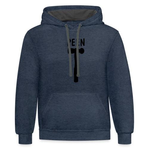 Peen Shirt - Contrast Hoodie