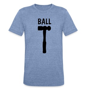 Ball Shirt - Unisex Tri-Blend T-Shirt by American Apparel