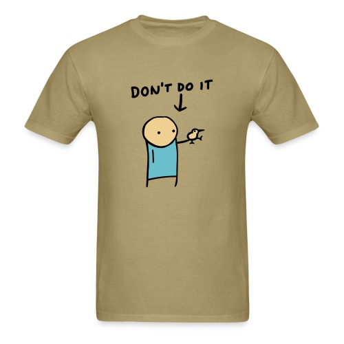 Kiwi Warning - Men's Heavyweight - Men's T-Shirt