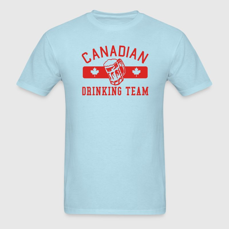 Canadian Drinking Team  - Men's T-Shirt