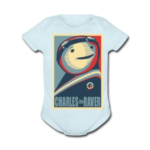 Charles Obama Men's Heavyweight - Short Sleeve Baby Bodysuit