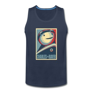 Charles Obama Men's Heavyweight - Men's Premium Tank