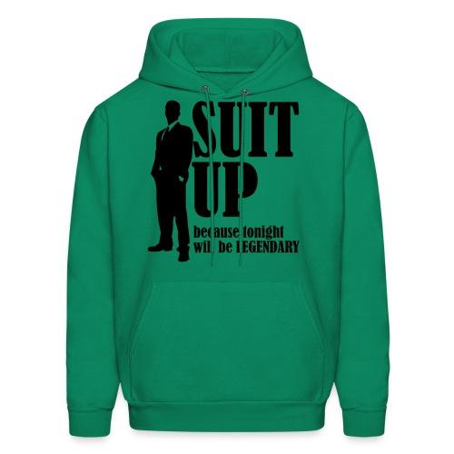 Suit Up - Men's Hoodie
