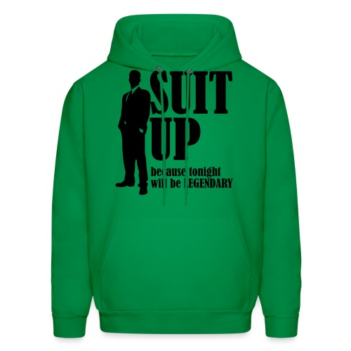 Suit Up - Men's Hoodie