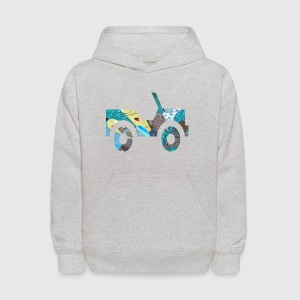 White AUTO : JEEP Toddler Shirts - Kids' Hoodie