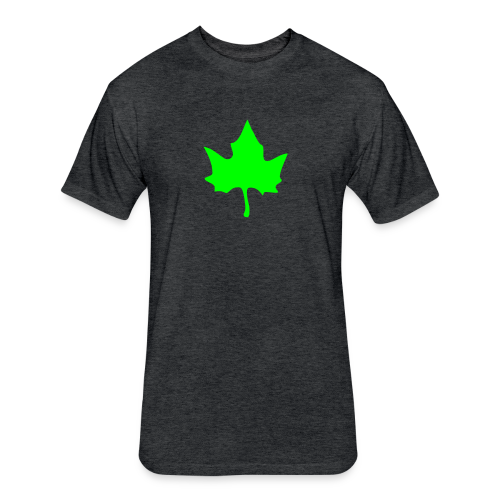 Elm leaf t-shirt - Fitted Cotton/Poly T-Shirt by Next Level