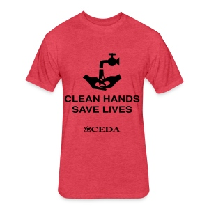 Left 4 Dead 2: Clean Hands - Fitted Cotton/Poly T-Shirt by Next Level