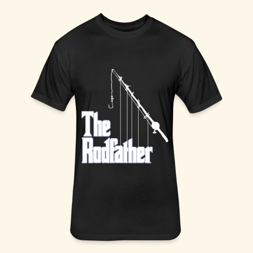 rod father - Fitted Cotton/Poly T-Shirt by Next Level