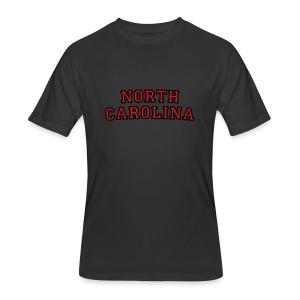North Carolina T-Shirt College Style - Men's 50/50 T-Shirt