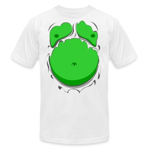Comic Fat Belly Green, beer gut, beer belly, chest t-shirt - Men's  Jersey T-Shirt