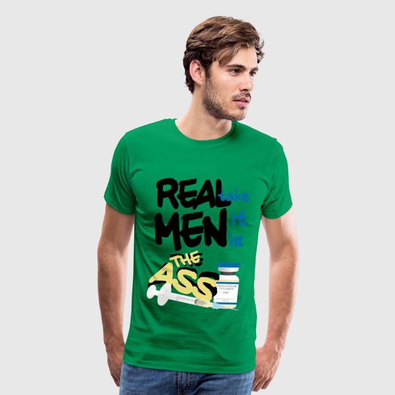 Real Men (FTM) T-Shirts - Men's Premium T-Shirt