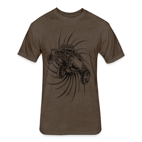 Buggy Blast Off - Fitted Cotton/Poly T-Shirt by Next Level