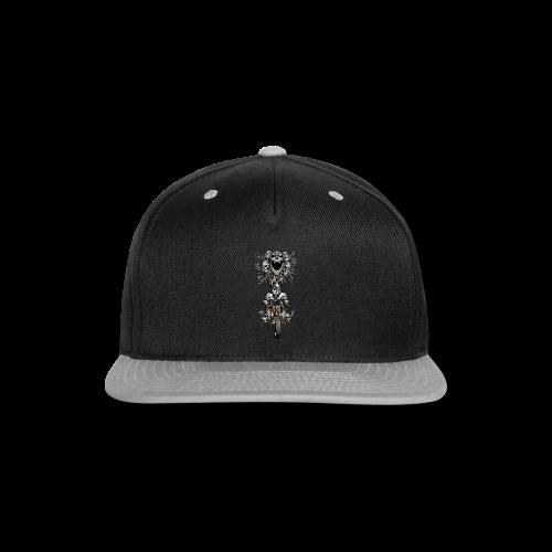 Skull Tree Dirt Biker - Snap-back Baseball Cap