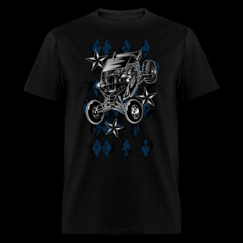 Checker Board Buggy - Men's T-Shirt