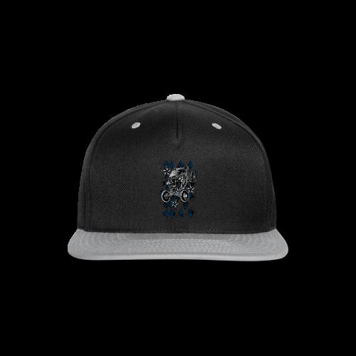 Checker Board Buggy - Snap-back Baseball Cap