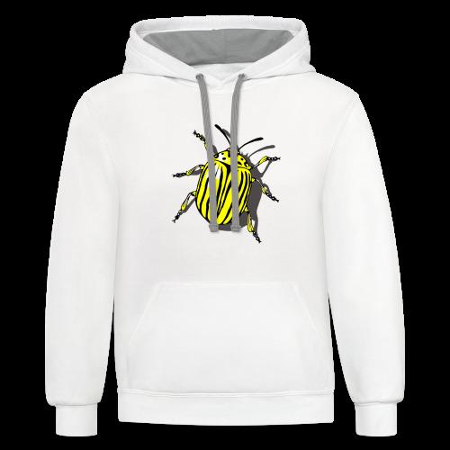 Bug T-Shirts Colorado Beetle - Contrast Hoodie