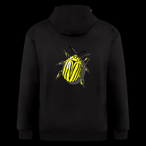 Bug T-Shirts Colorado Beetle - Men's Zip Hoodie